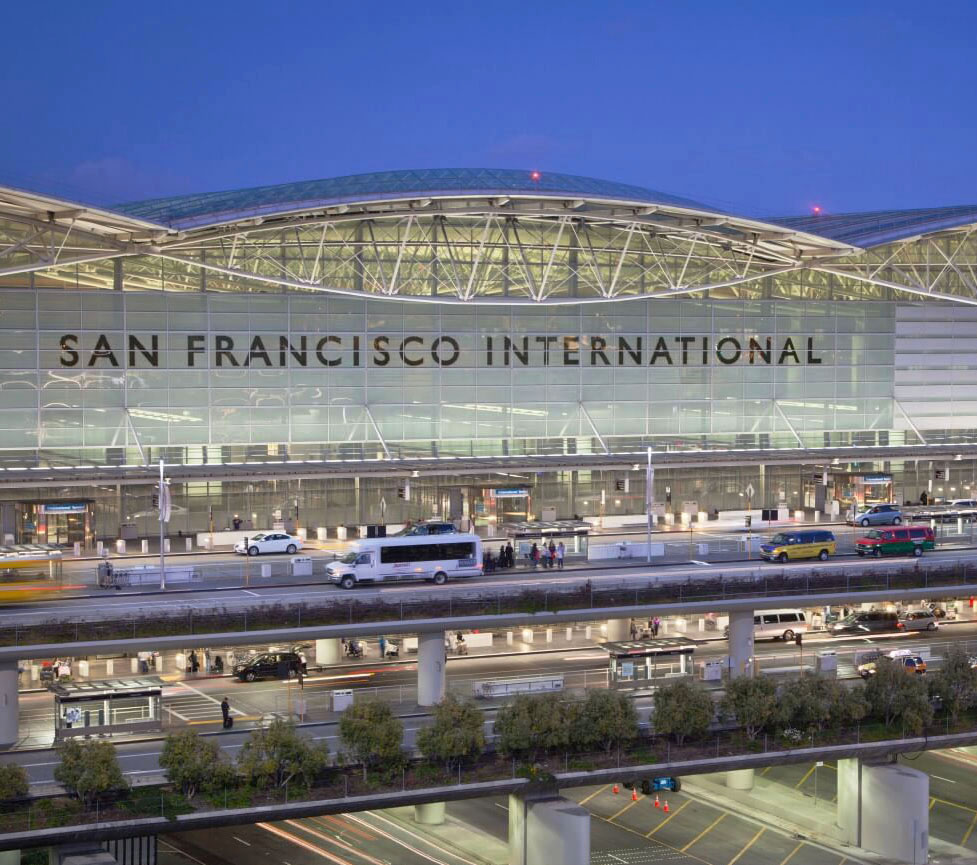 SFO Airport cut