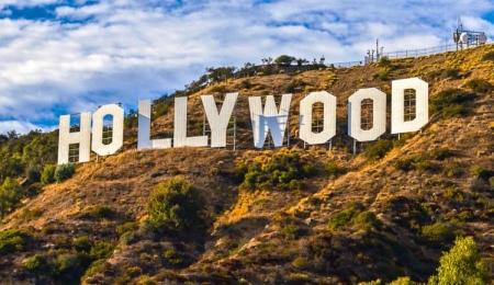 Der weltberühmte Hollywood Schriftzug in Los Angeles